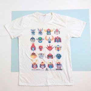 Anime Super Robots t-shirt